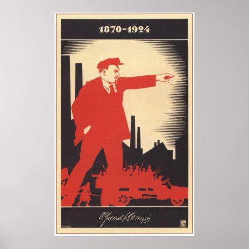Lenin Posters