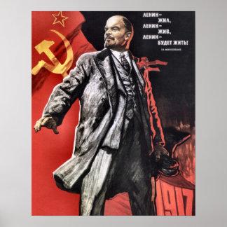 Lenin Poster From The Russian Revolution