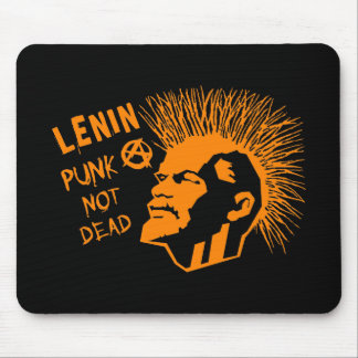 Lenin Punk Not Dead C Mouse Pad