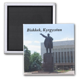 Lenin Statue, Bishkek, Kyrgyzstan Magnet