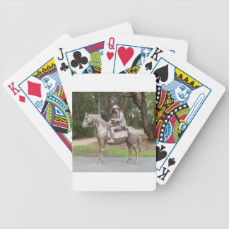 Lennie Gwyther on Ginger Mick Bicycle Playing Cards