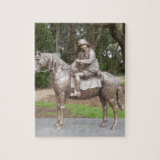 Lennie Gwyther on Ginger Mick Jigsaw Puzzle