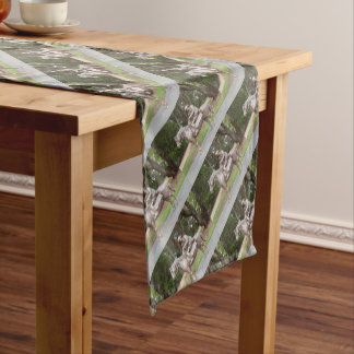 Lennie Gwyther on Ginger Mick Short Table Runner