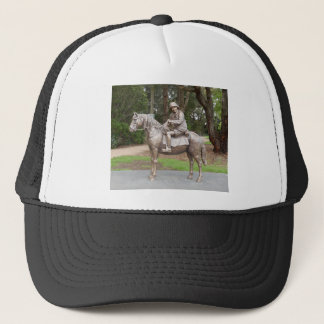 Lennie Gwyther on Ginger Mick Trucker Hat