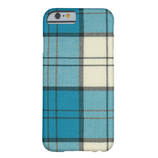 Lennox Dress Turquoise Tartan iPhone 6 case-Mat Barely There iPhone 6 Case