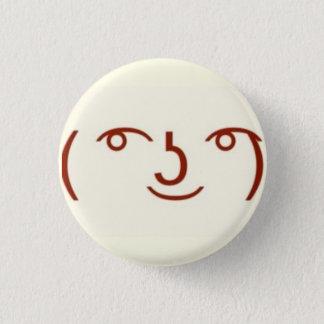 Lenny ( ͡° ͜ʖ ͡°) 1 inch round button