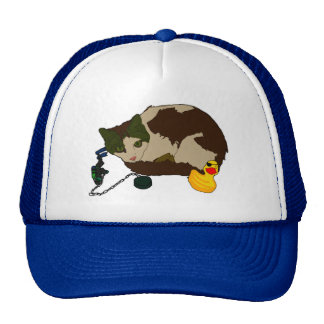Lenny and Duckie in the bath! Trucker Hat