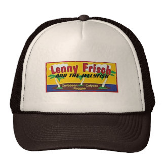 Lenny Frisch and the JELLYFISH Mesh Hat