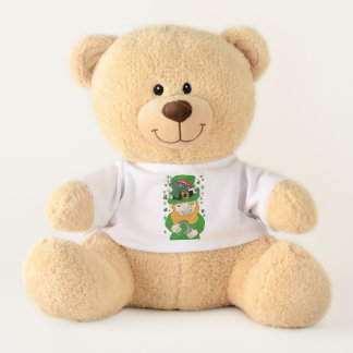 Lenny The Leprechaun Med. Teddy Bear