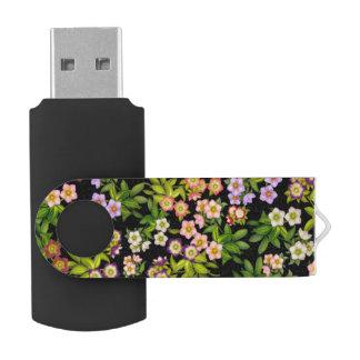 Lenten Rose Hellebore Flowers USB 64GB Flash Drive