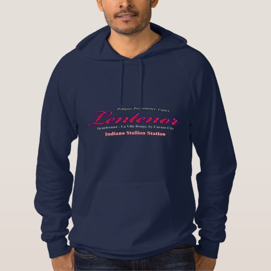 Lentenor Full Brother To Barbaro Fleece One Sided Hoodie