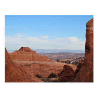 Lenticular Clouds Arches National Park Postcard