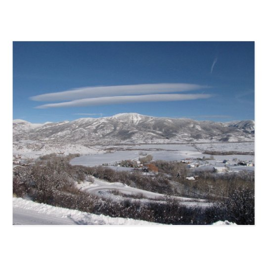 Lenticular Clouds Postcard