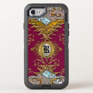 Lentyale Petrach Victorian VII Monogram OtterBox Defender iPhone 8/7 Case