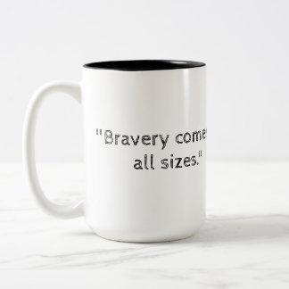 Leo and the Wand- Bravery found inside Two-Tone Coffee Mug