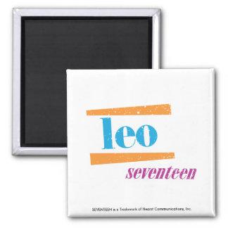Leo Aqua Refrigerator Magnets