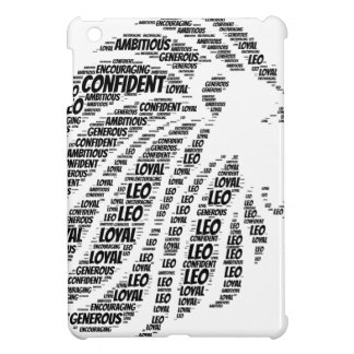 Leo Astrology Zodiac Sign Word Cloud iPad Mini Cover