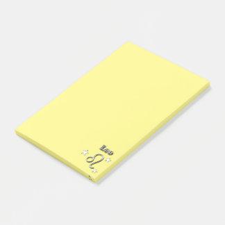 Leo chrome symbol post-it notes