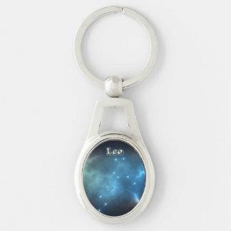 Leo constellation keychain