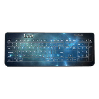 Leo constellation wireless keyboard