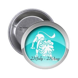 Leo Dates Badge 2 Inch Round Button