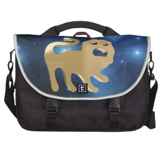 Leo golden sign laptop bag
