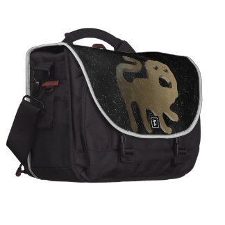 Leo golden sign laptop shoulder bag