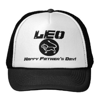 LEO Happy Father's Day!-Customize Trucker Hats