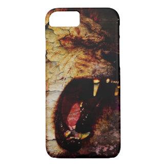 Leo horoscope safari wild Animal African Lion iPhone 8/7 Case