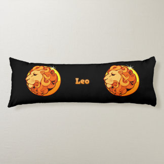 Leo illustration body pillow