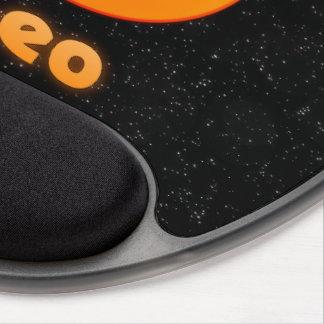 Leo illustration gel mouse pad