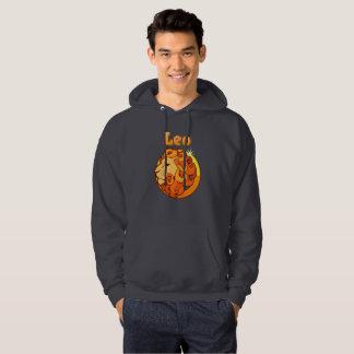 Leo illustration hoodie