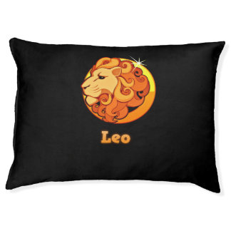 Leo illustration pet bed