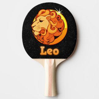 Leo illustration Ping-Pong paddle