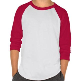 Leo Kids' American Apparel Raglan Shirt.