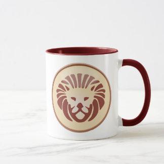 Leo, Lion Horoscope Symbol Coffee Mug