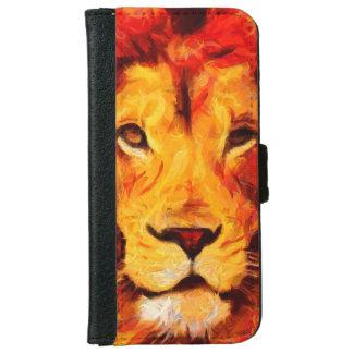Leo Lion Power iPhone 6 Wallet Case