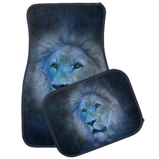 Leo Lion Zodiac Horoscope Astrology Car Mat