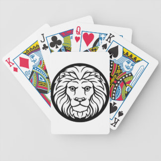 Leo Lion Zodiac Sign Bicycle Playing Cards