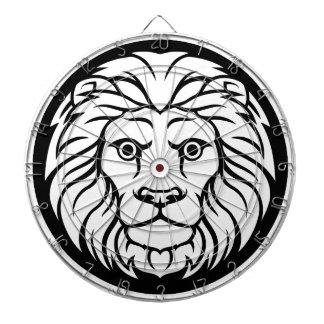 Leo Lion Zodiac Sign Dartboard