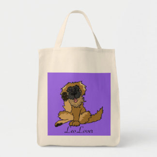 Leo Lover tote bag