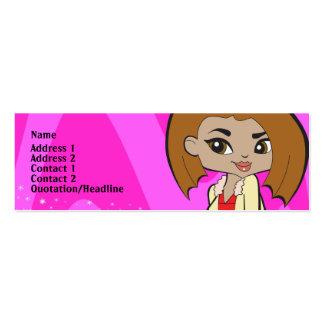 Leo Profile Card Mini Business Card