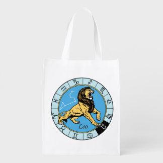leo reusable grocery bag