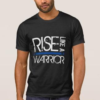 """LEO """"Rise Like A Warrior"""" Thin Blue Line Tee"""