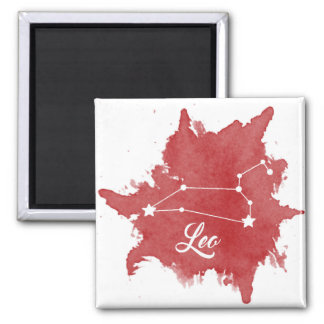 Leo Star Sign Magnet