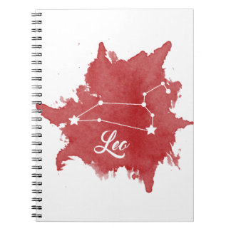 Leo Star Sign Notebook