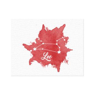 Leo Star Sign Wall Art
