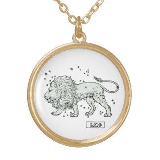 Leo - Star Sign Zodiac Horoscope Bithday Necklace