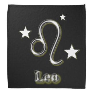 Leo symbol bandana