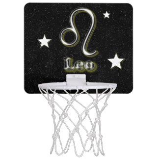 Leo symbol mini basketball hoop